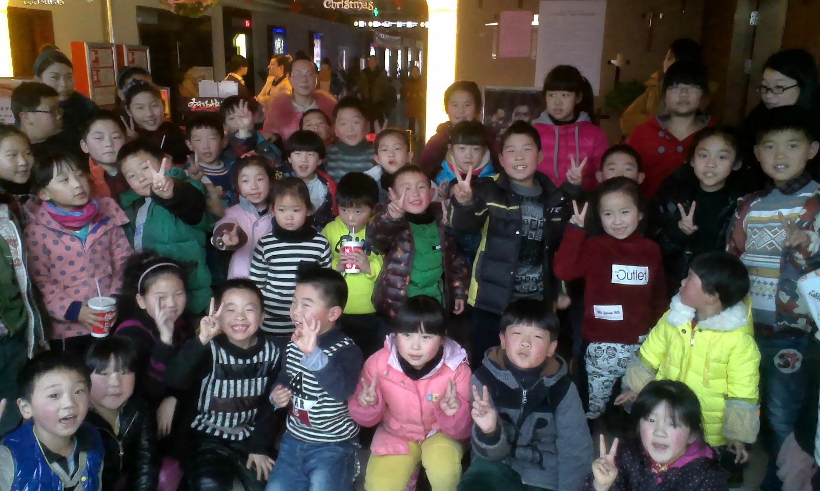 发现天真可爱的孩子们身上其实有很多闪光点