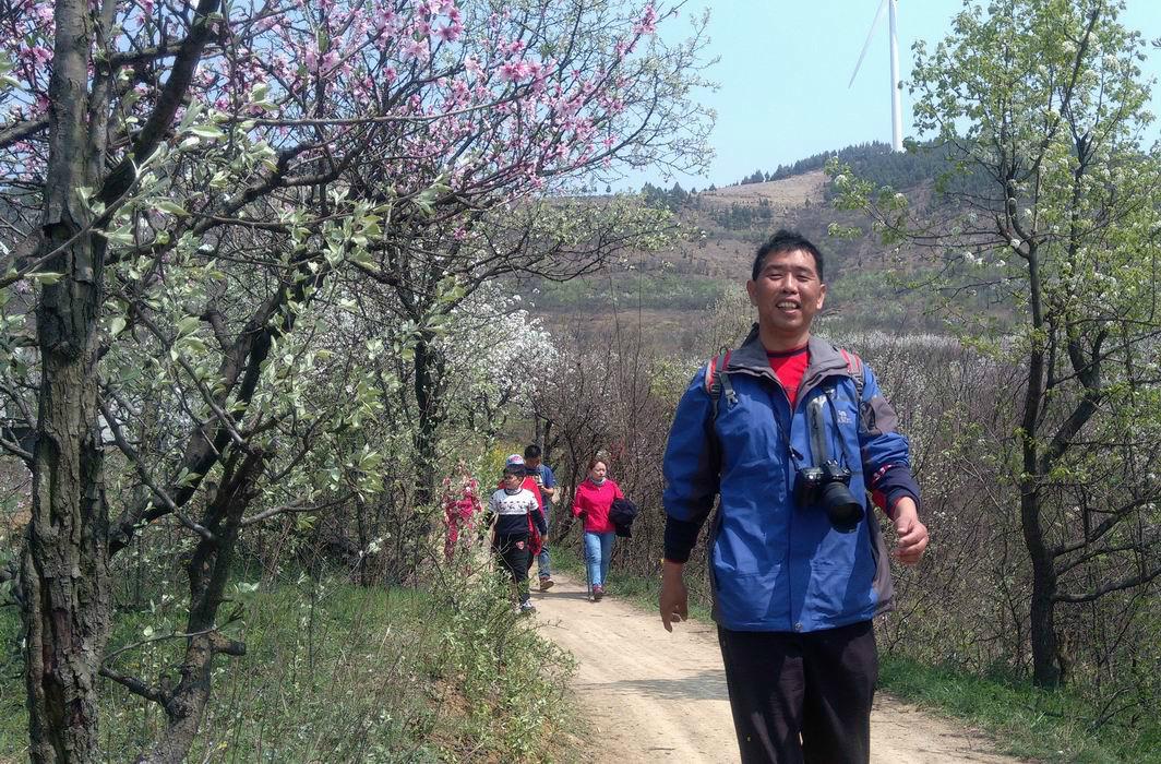 春天里的邂逅 ——记徒步郝家圩村赏花