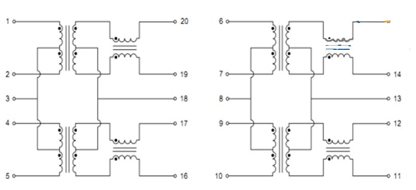 网络变压器如何有效的抑制125mhz及其倍频辐射