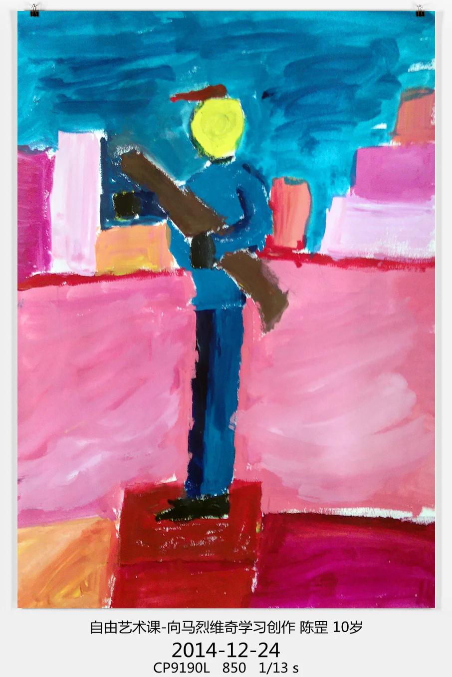 简单儿童抽象画图片