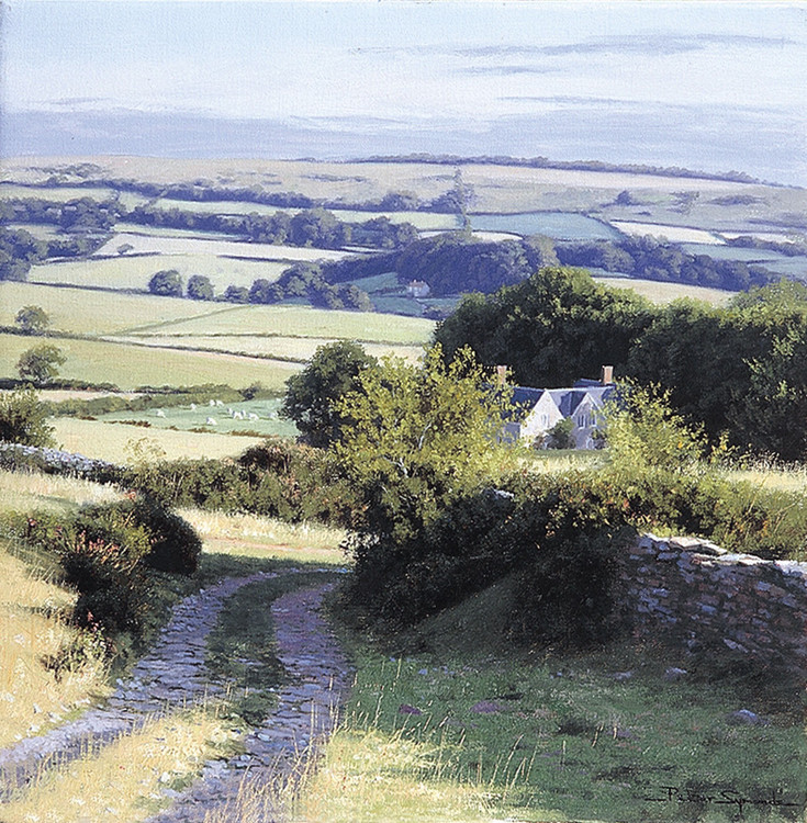 擅长画风景画,画他熟悉的不列颠群岛,河流,山脉和海岸.
