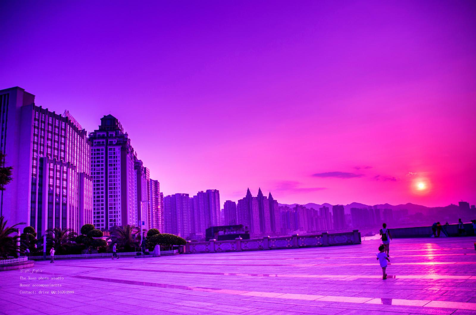 两江广场的暮色 - 涪陵摄影 - 涪风论坛-fuling.com