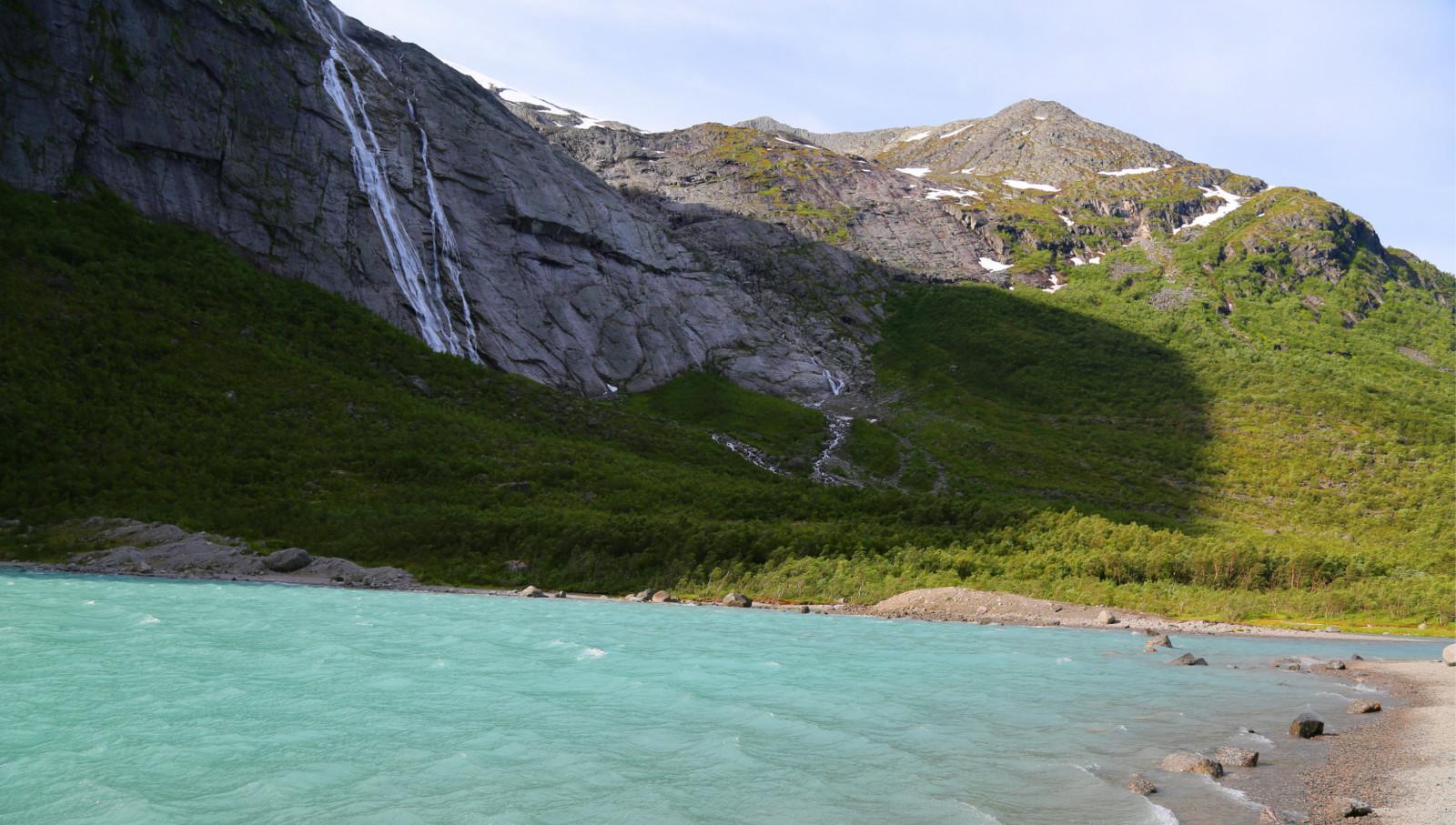 北欧乡村山水风景图片花