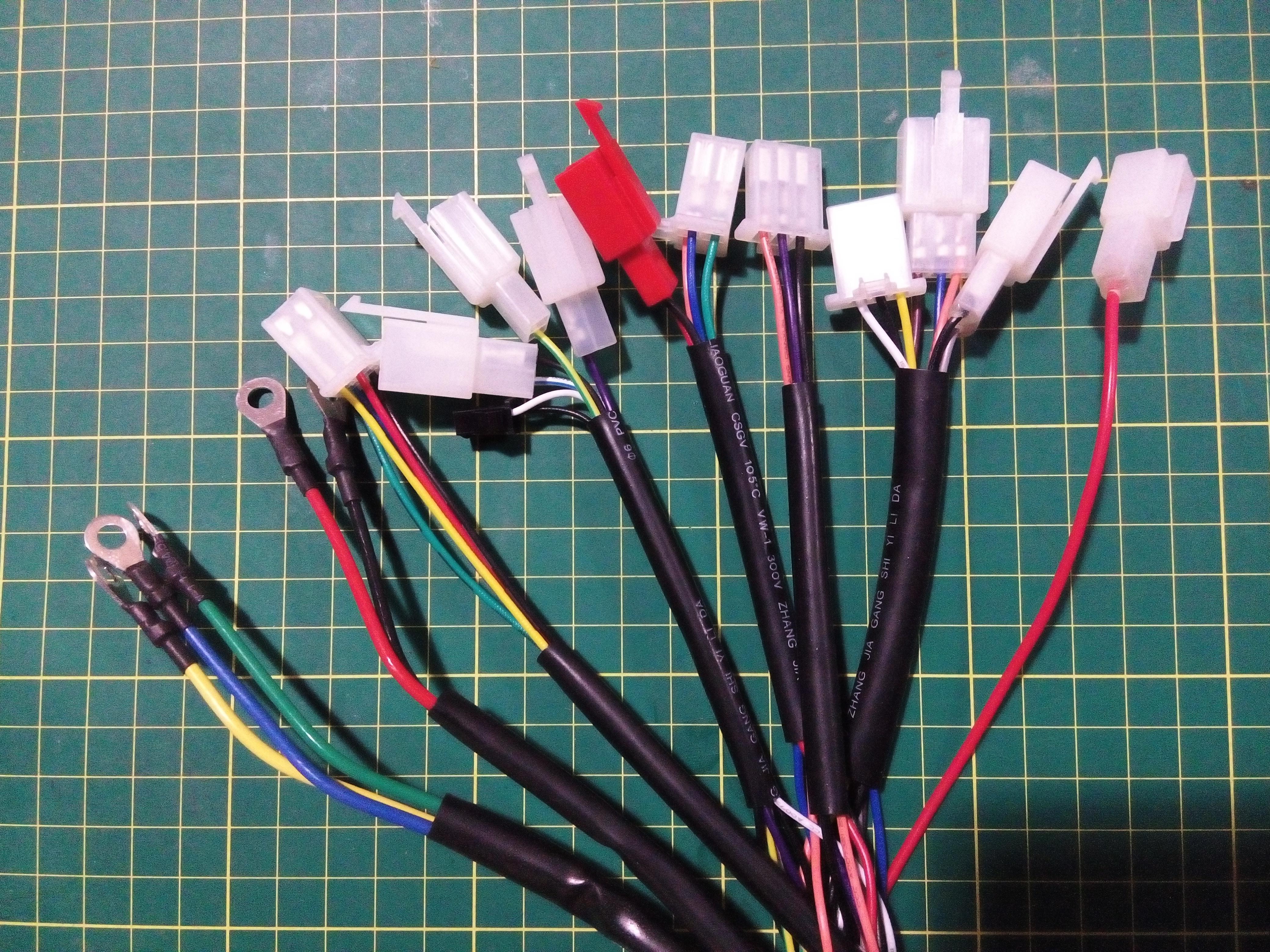 电动车控制器怎样接线图
