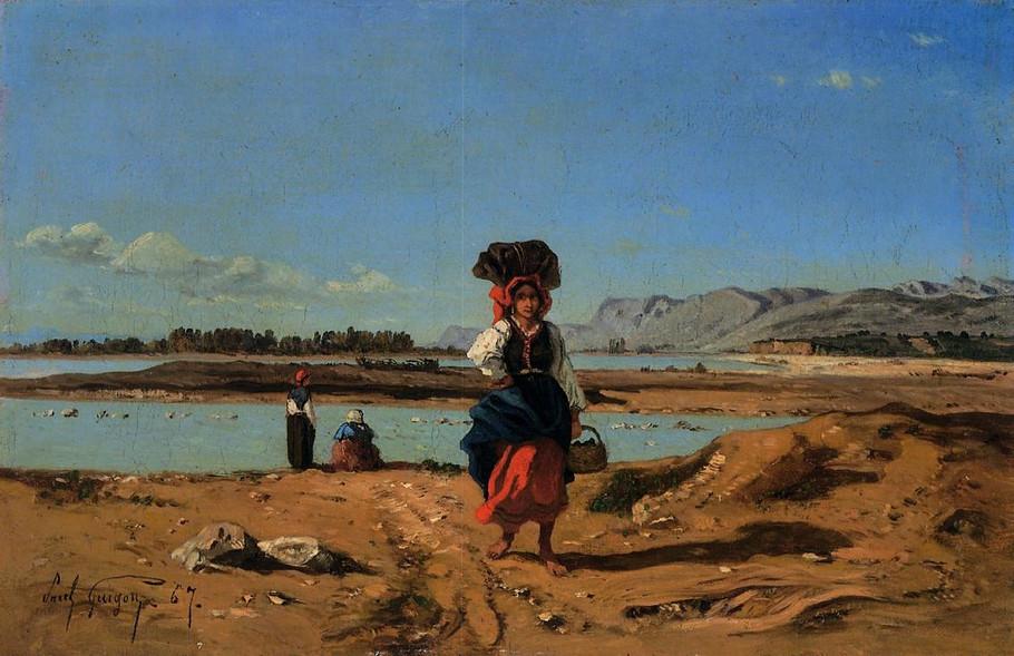 卡米尔吉古*风景油画