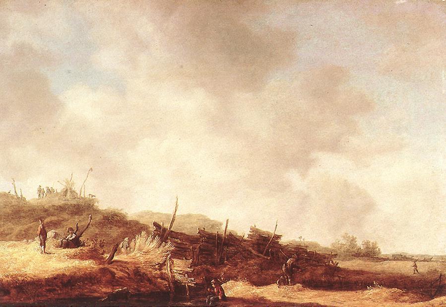 里贝克.戈延风景油画作品