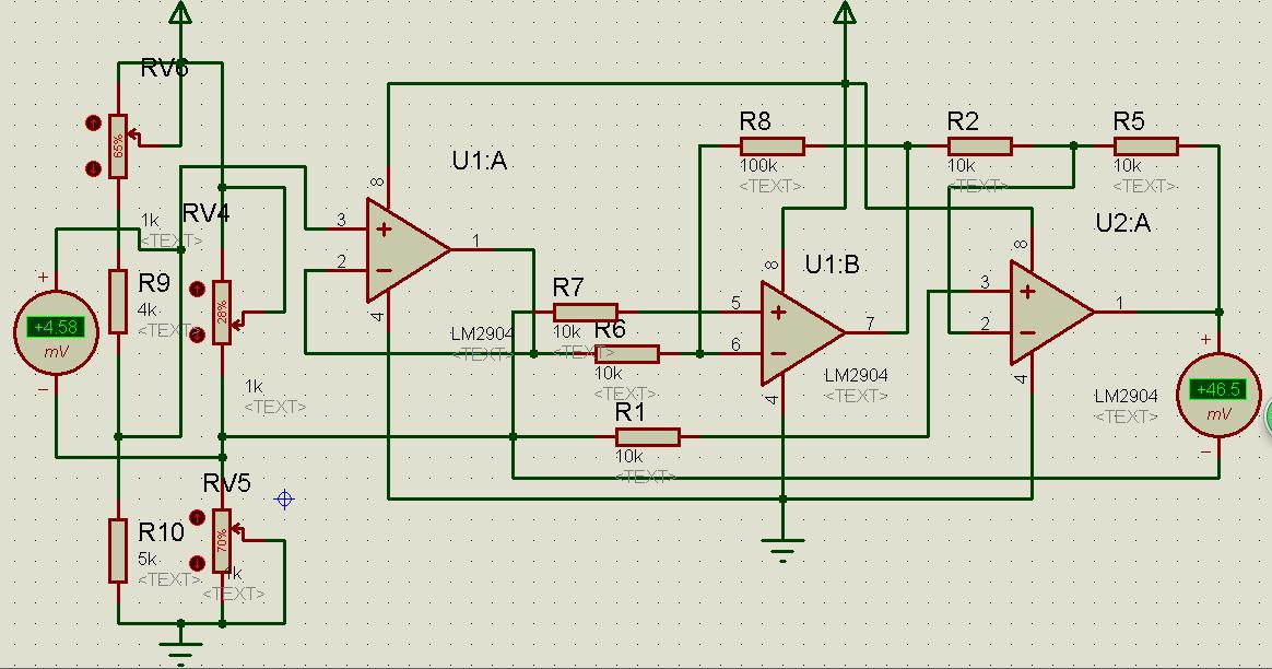 电桥放大电路及stc12单片机adc0832