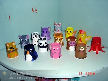 创意手工:纸杯动物 亲子活动做什么?试试一起做做手工吧!简单可爱的纸杯动物