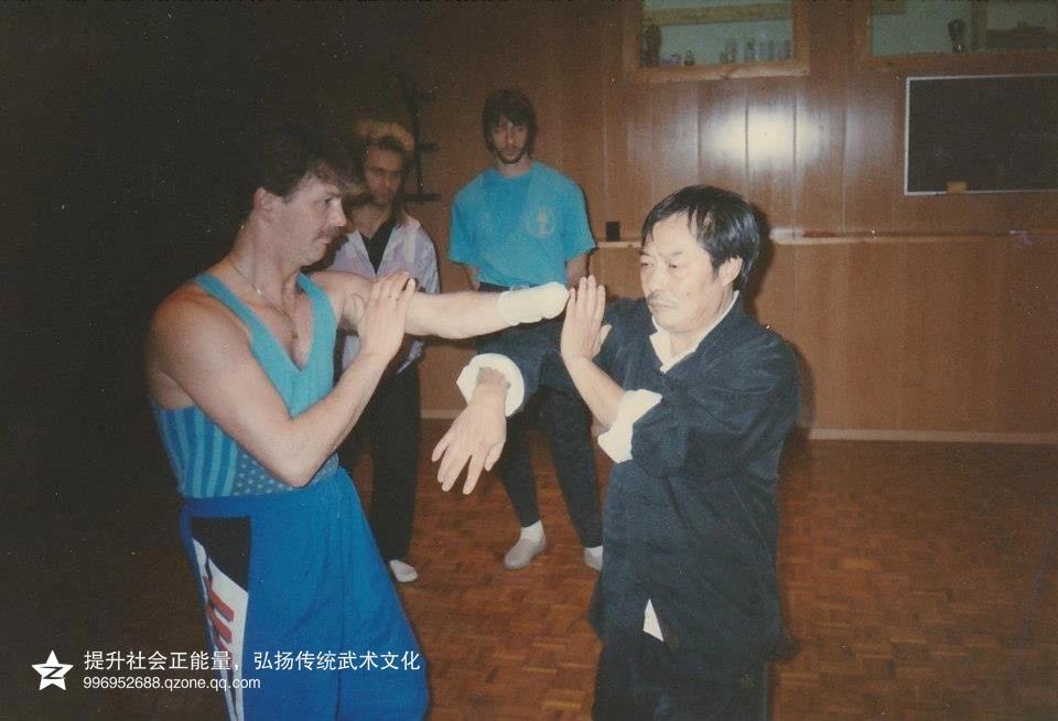 咏春拳的结构力 - duren112 - 邹震感悟
