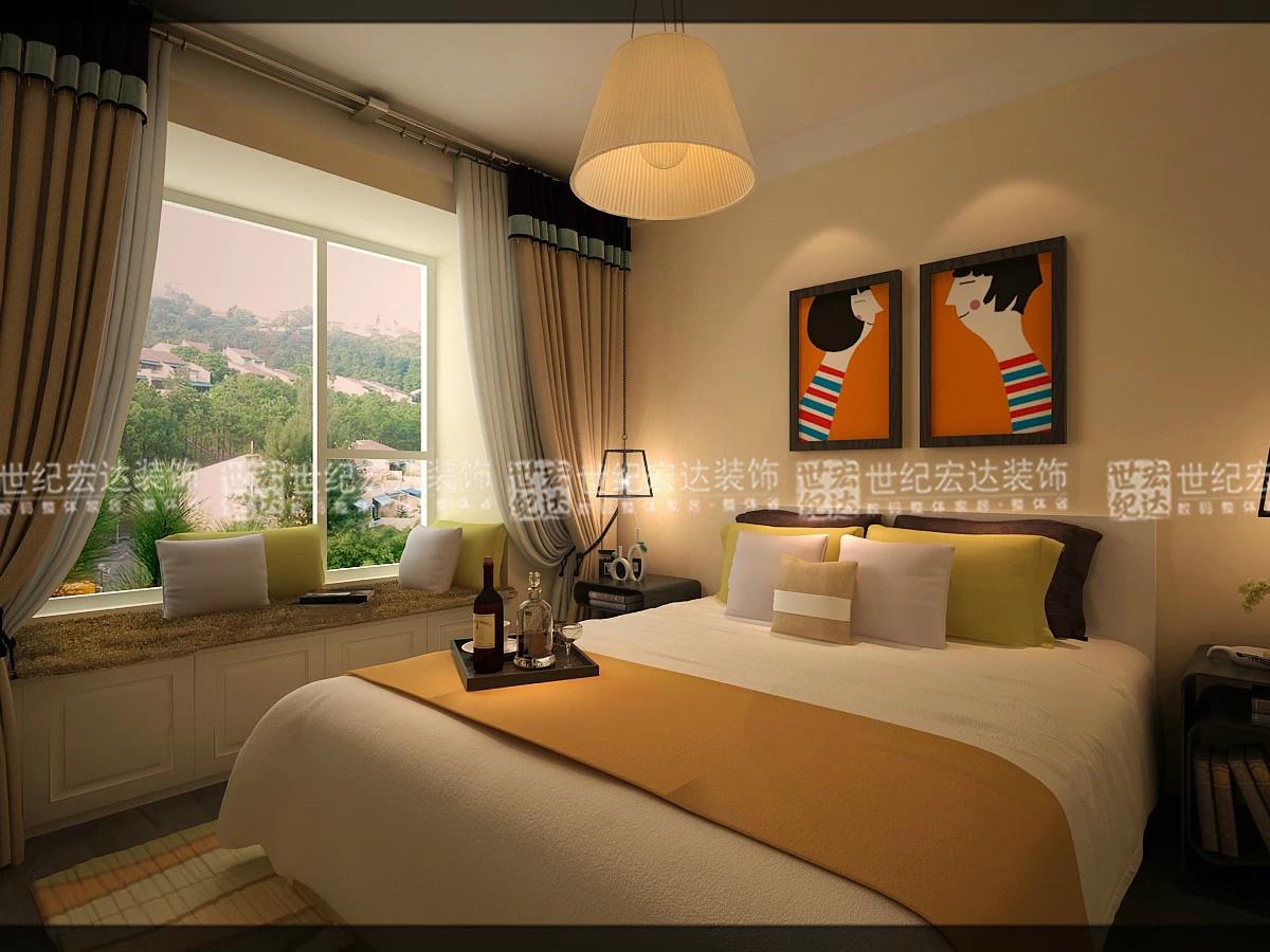 沙发背景墙天蓝色的乳胶漆配简单的黑白婚纱照