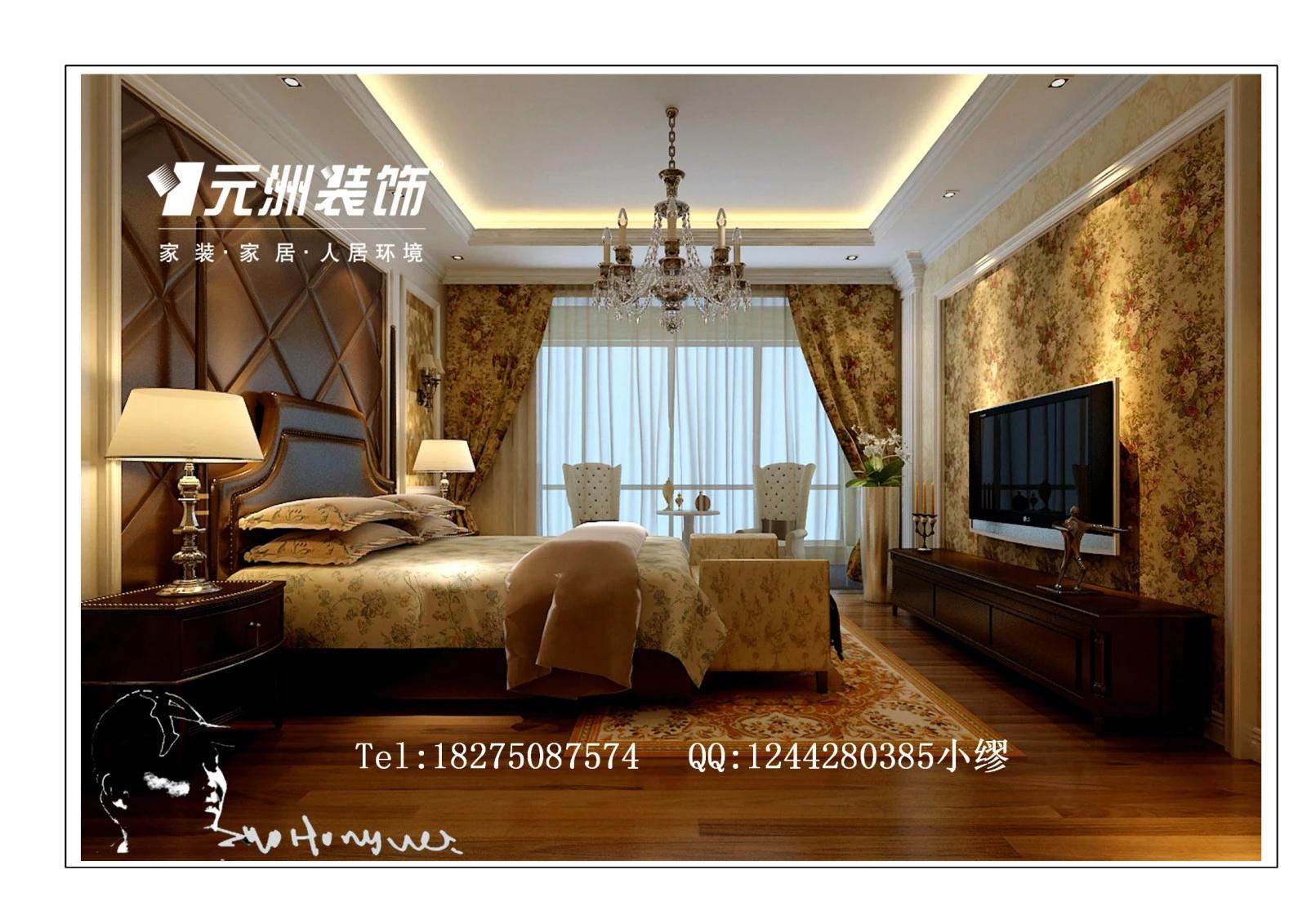 托斯卡纳别墅装修效果图----320平米--欧式新古典