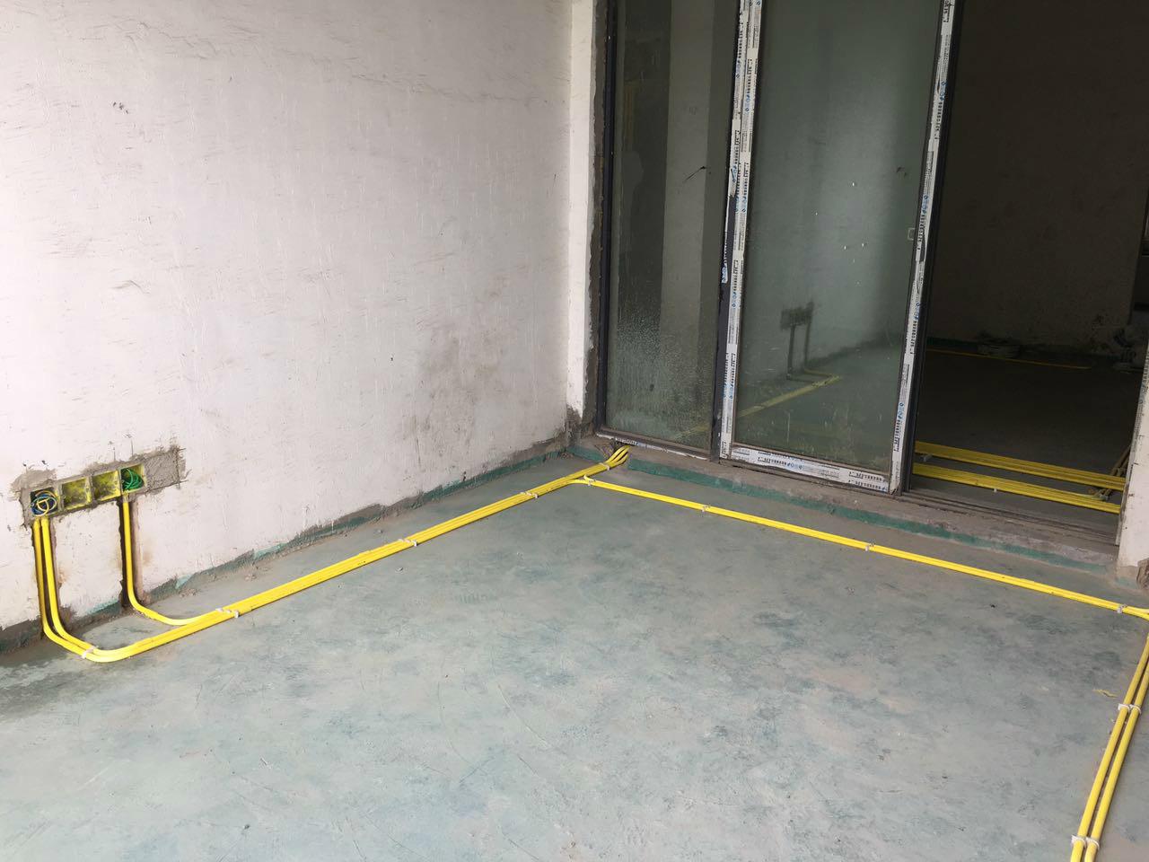 客厅到厨房电路改造   元洲装饰官网:http://gy.yz-china.