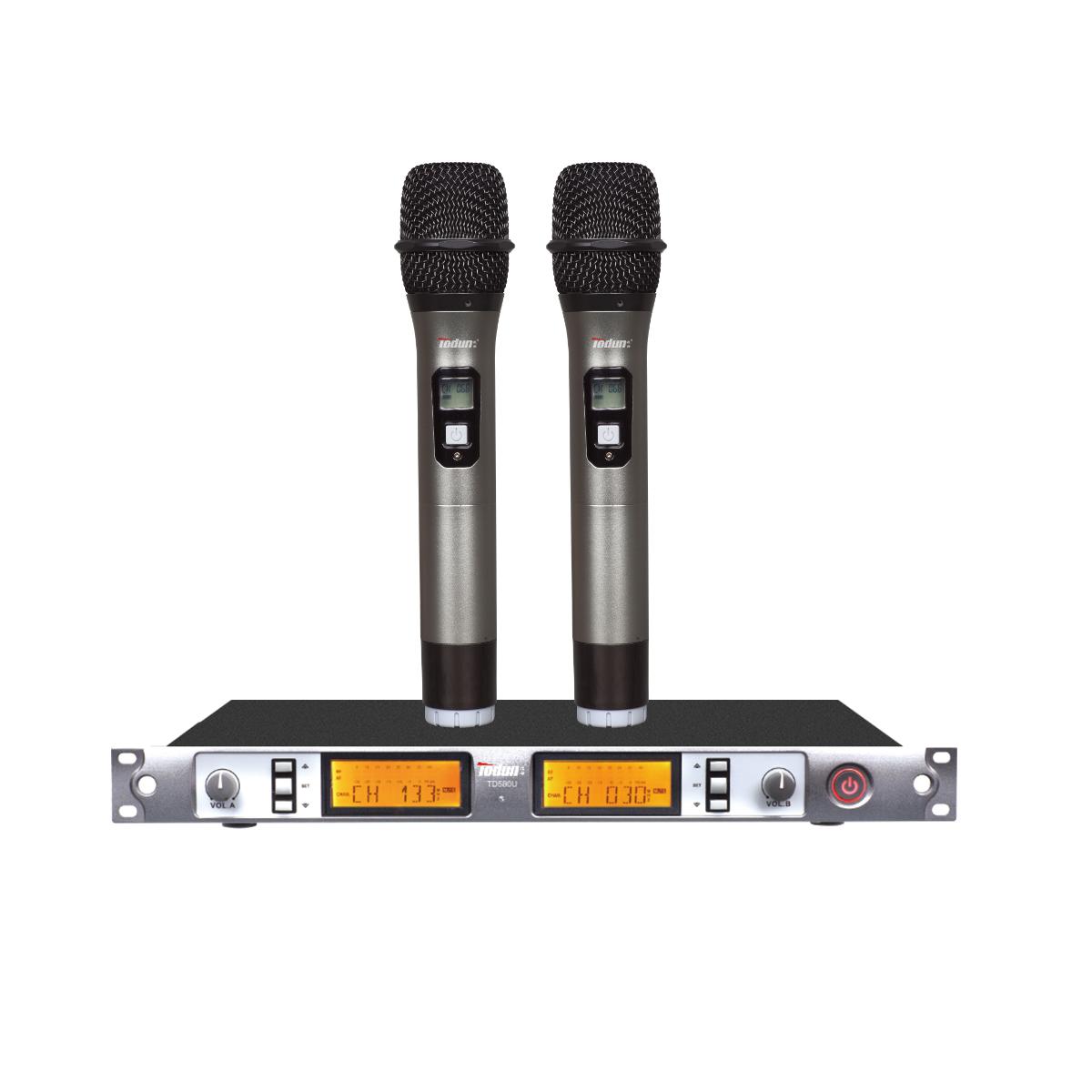 无线麦克风KTV 专业无线话筒TD580U 手持式无线麦克风 可选头戴 领夹话筒