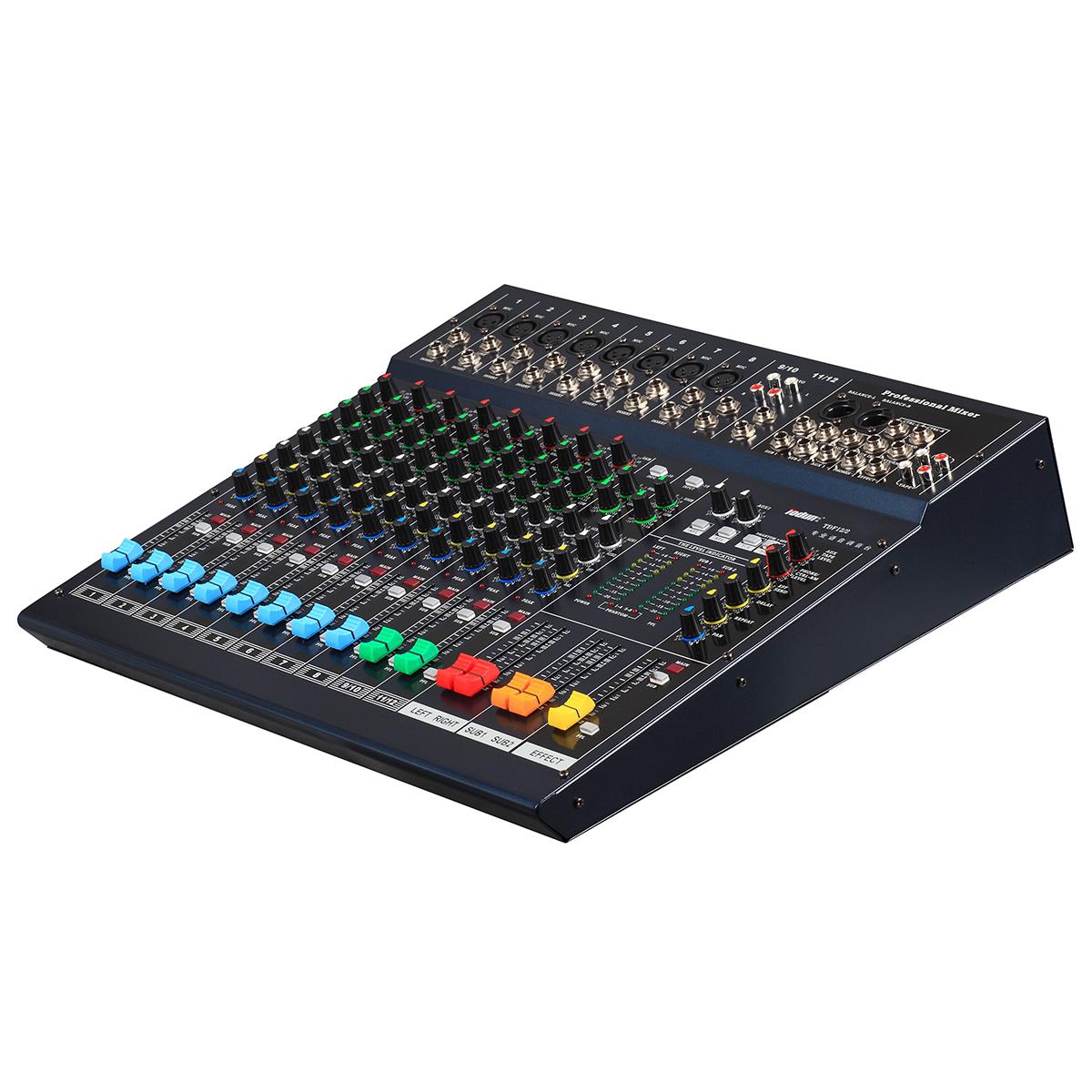 托顿TDF12/2 扩声音响周边设备 12路专业调音台