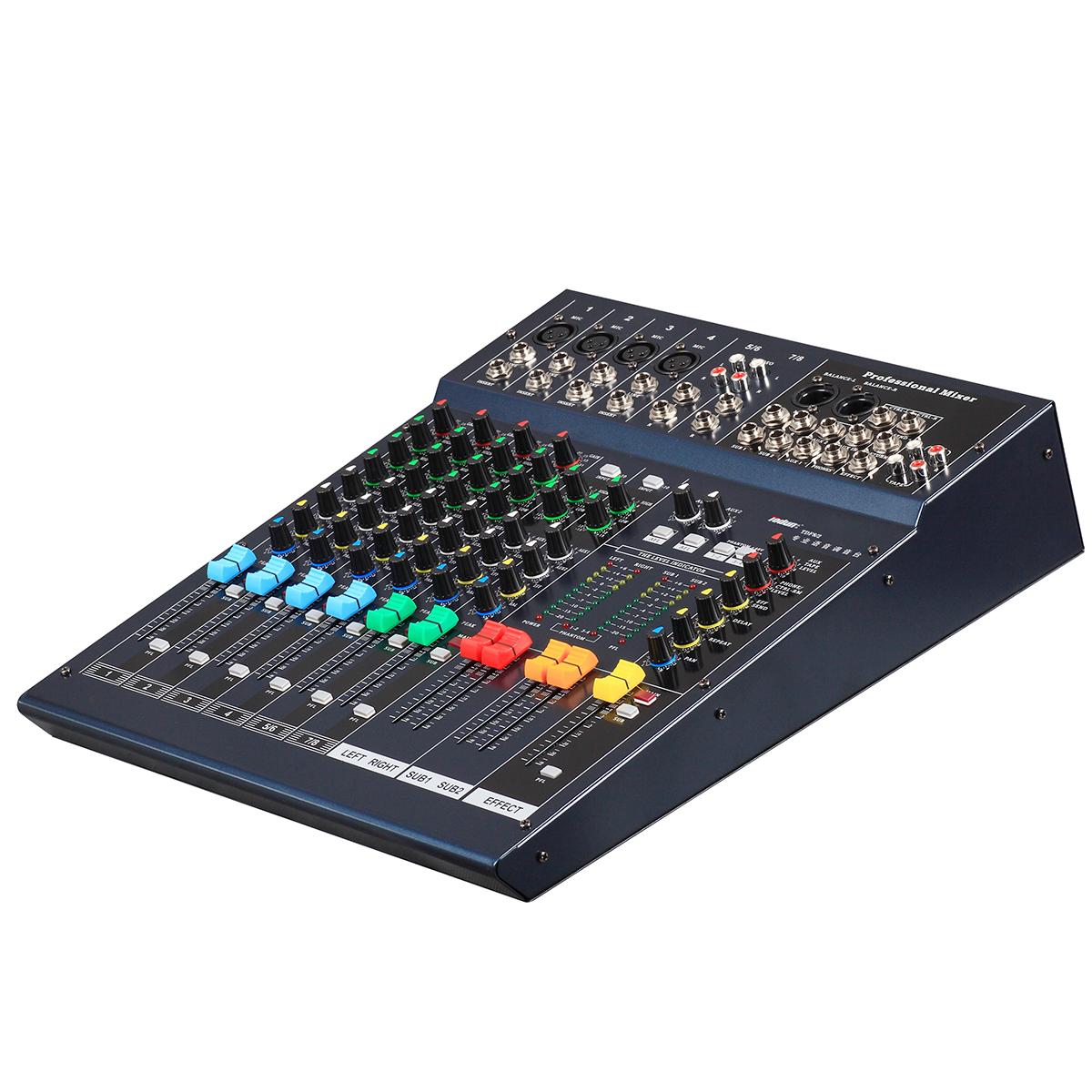 托顿TDK8/2 扩声音响周边设备 8路专业调音台