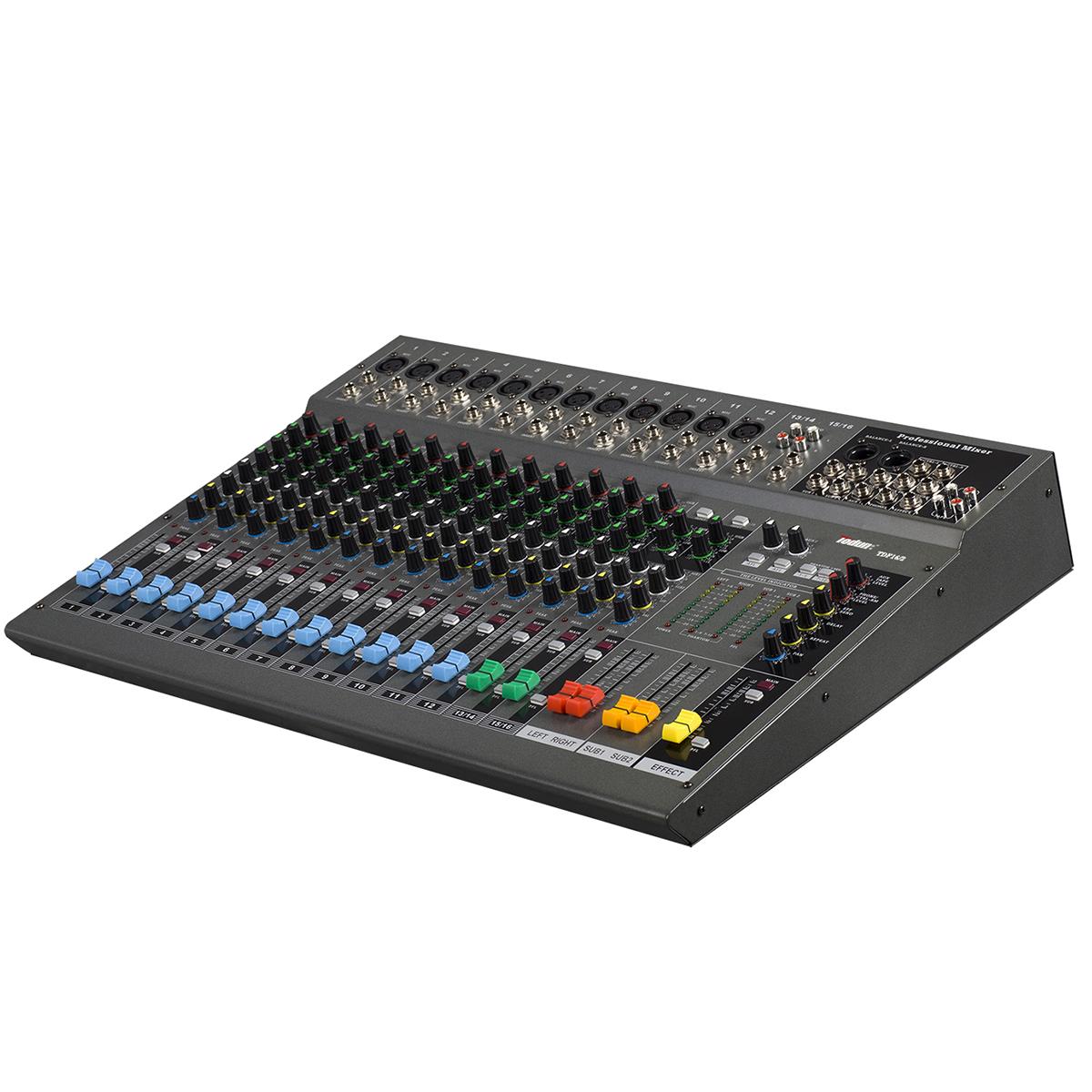 16路专业调音台 TDF16/2 应用公共广播系统,舞台灯光机械,娱乐,演出工程 录音工程