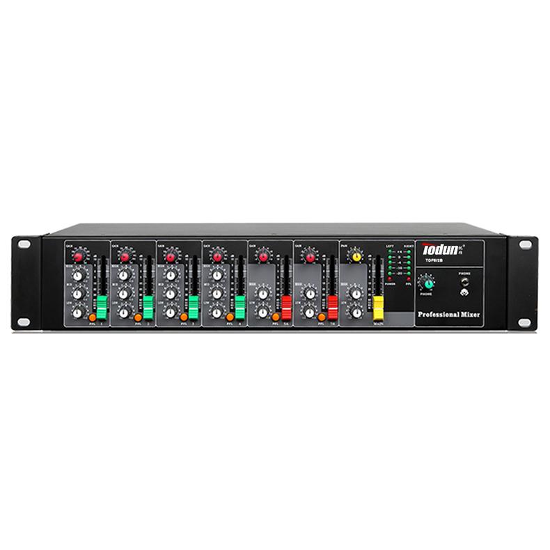 8路机柜调音台 TDF8/2B 影院扩声, 乐器, 系统设计, 奥运场馆应用机柜式调音台