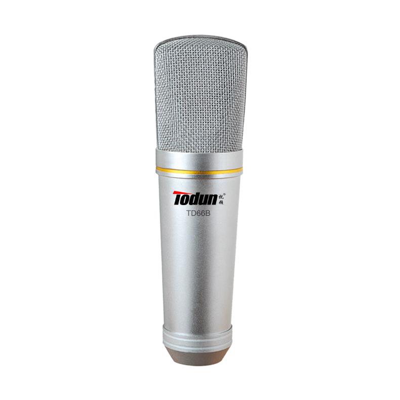 专业大震膜话筒-托顿TD66B 录音麦克风(大震膜,单面)