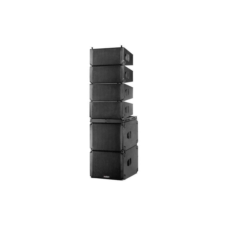 托顿XZ210扩声音响周边设备 双10寸线阵系列音箱