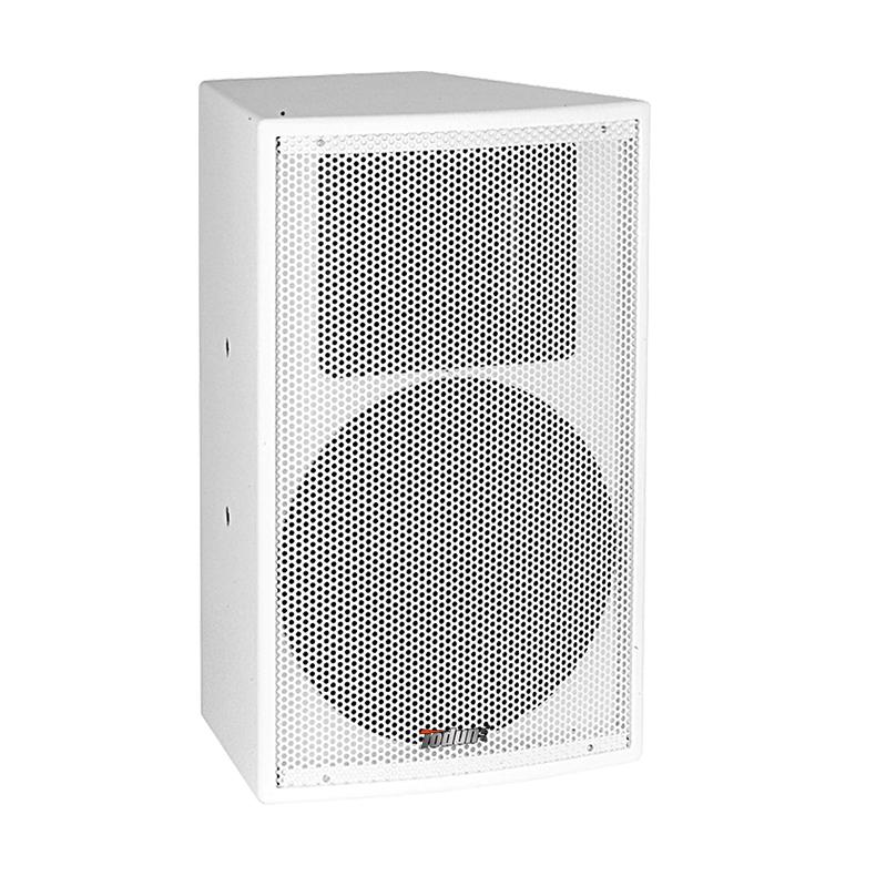 8寸会议音箱 TD822 左右可调160度木质结构语言音响 壁挂式安装 会议室音响