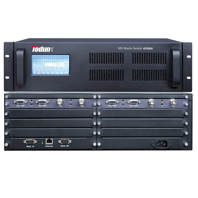 托顿HD0808 智能中控系统 8进8出混合矩阵