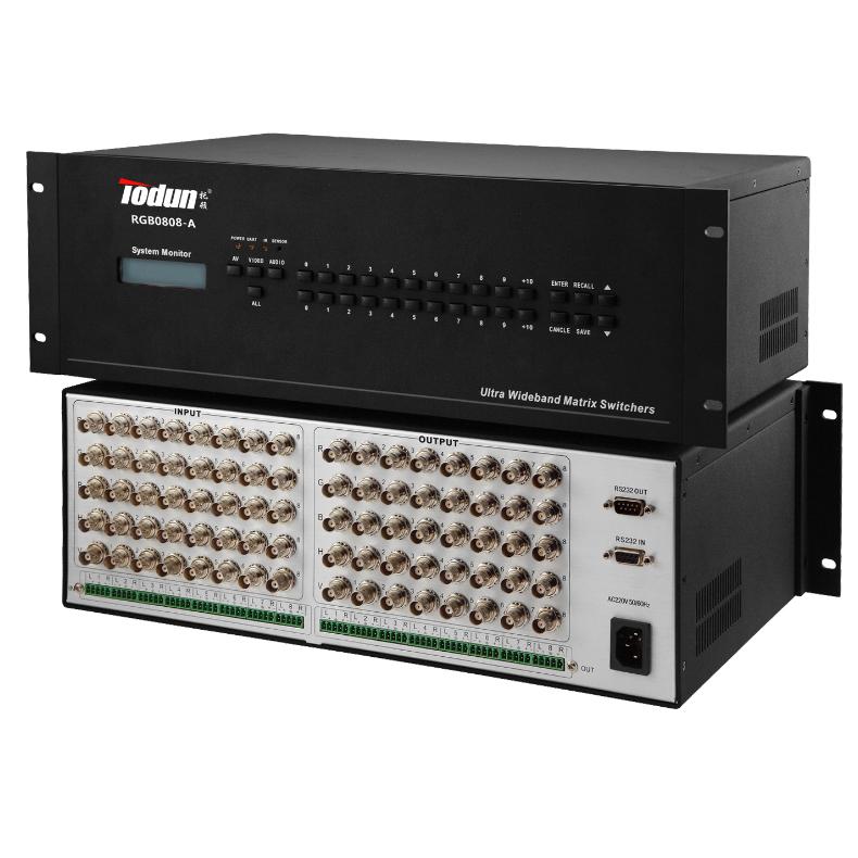 托顿RGB0808 智能中控系统 8进8出RGB矩阵