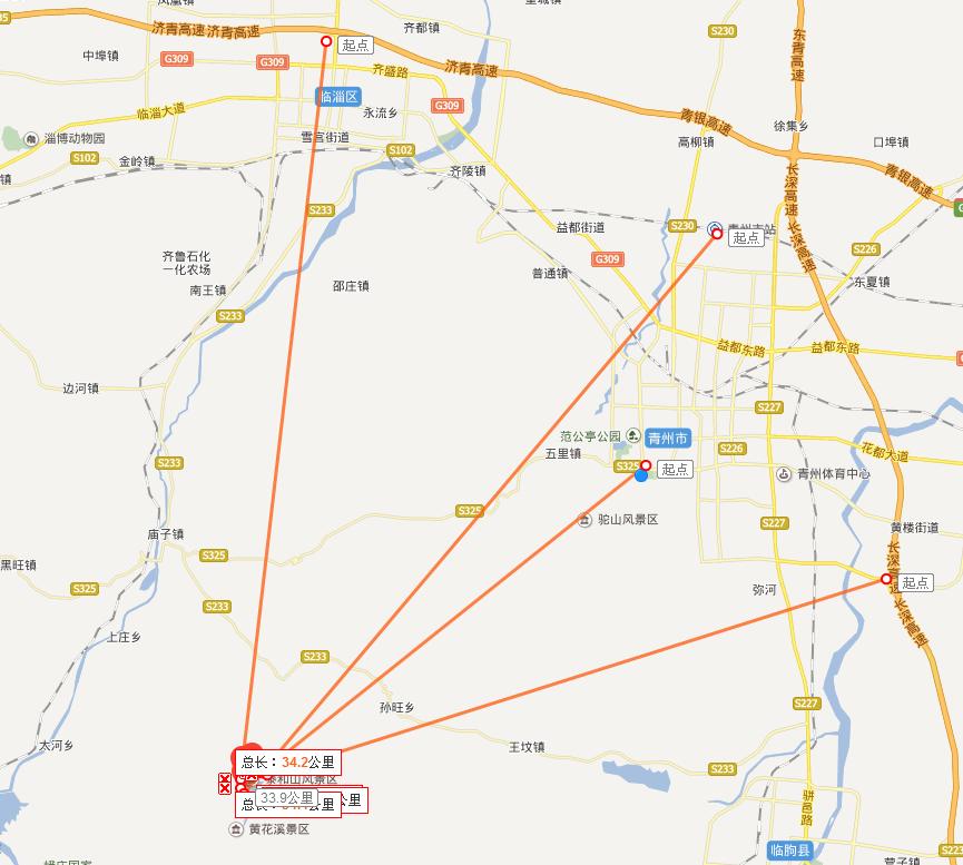 1,济南机场——机场大巴—青州(每天4班)  2,青岛机场-机场大巴——