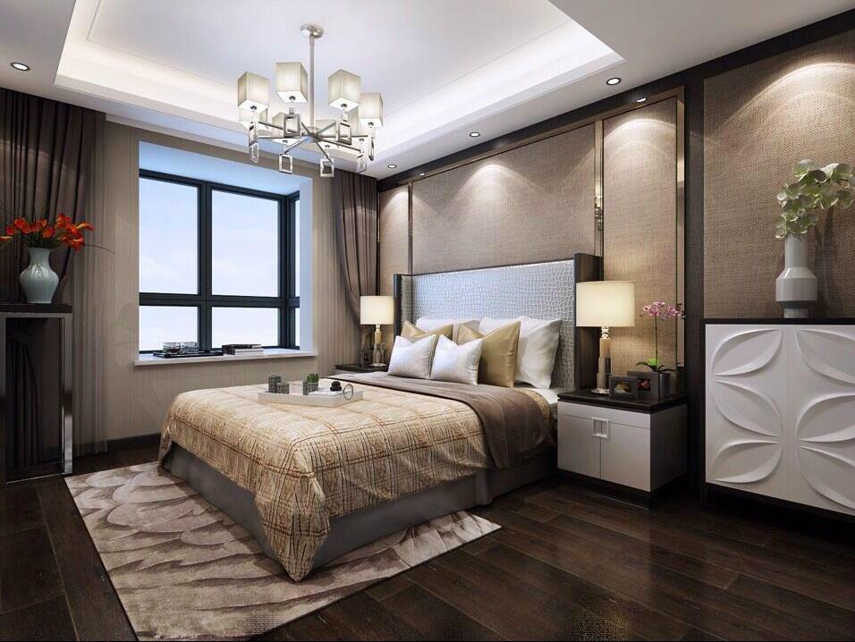 轻欧式卧室装修图片