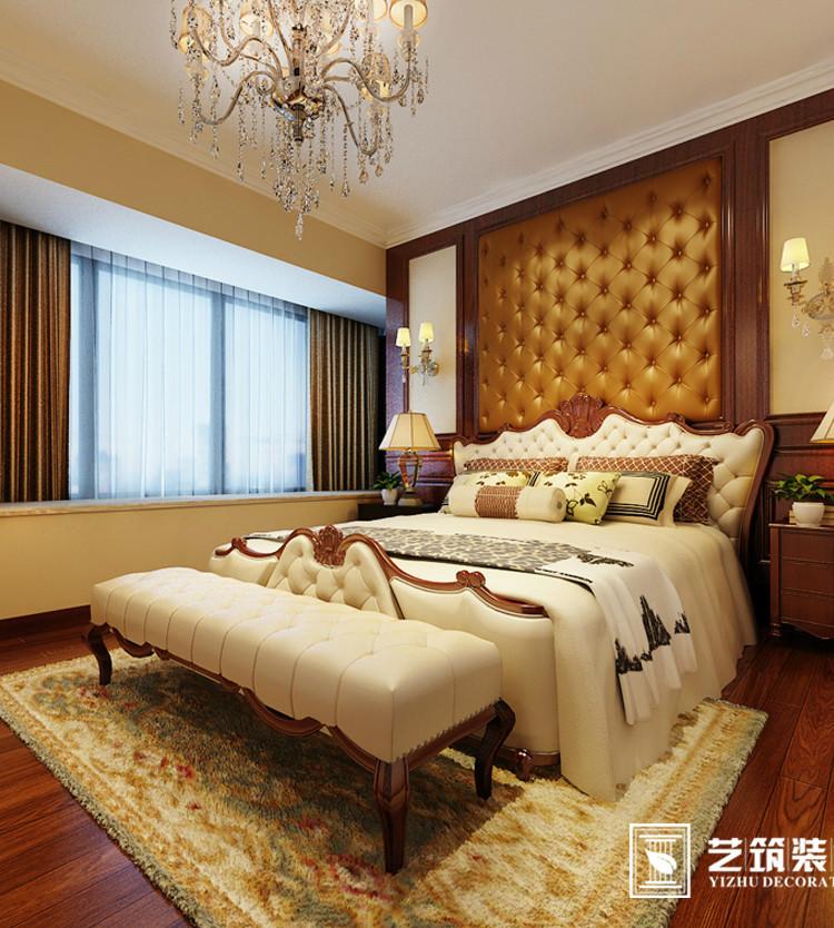 【华凯大院欧式风格】128平米 欧式风格 三居室装修 装修设计案例