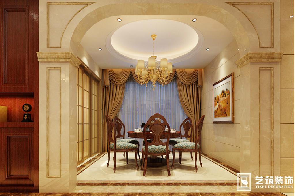 南庭艺筑装饰 欧式风格装修案例图片