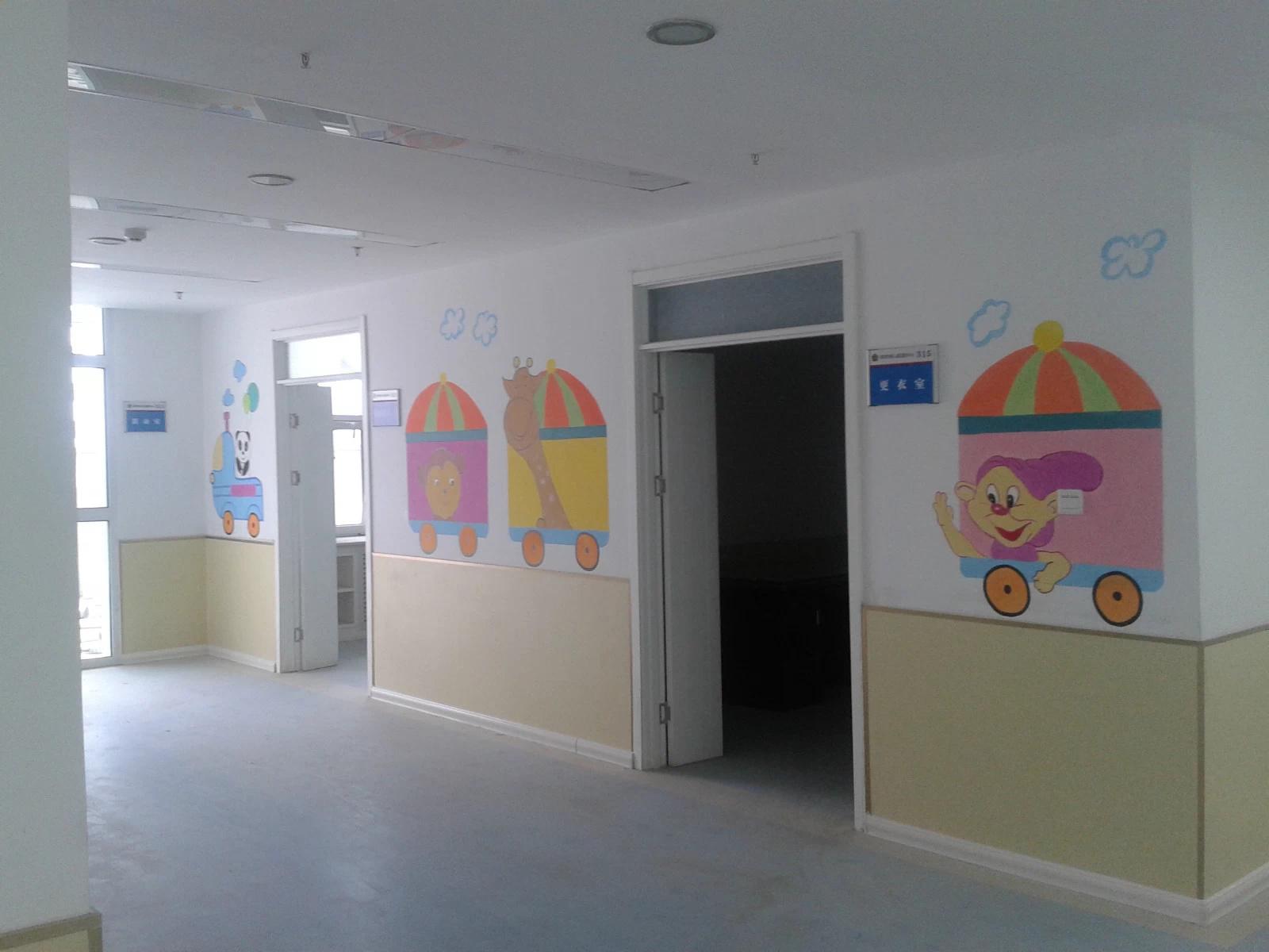 西宁残联幼儿园墙体彩绘