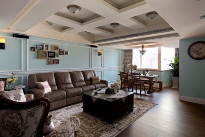 9平方米房屋类型:跃层设计风格:美式乡村家庭成员:三
