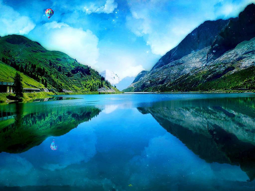 仙境风景图片大全大图
