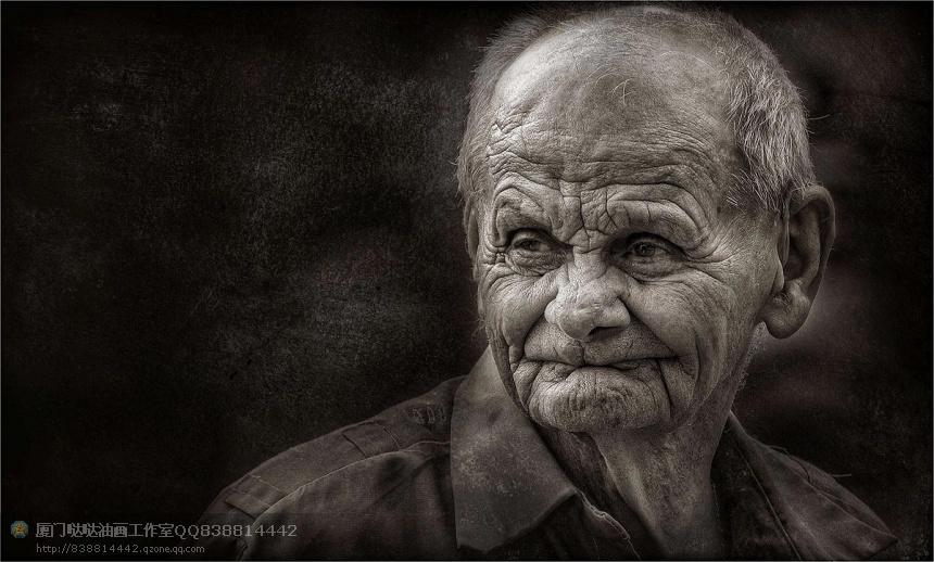 【高清】经典人物摄影系列之:老人头像