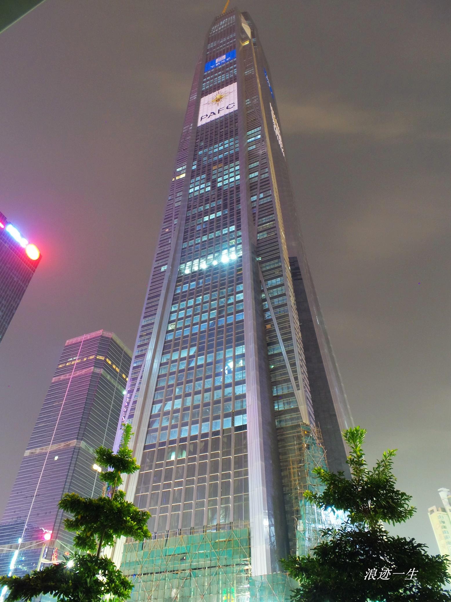 深圳平安国际金融中心|592.5米|118层|建成