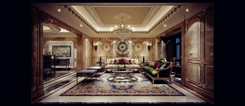 憬华别墅装修——白桦林间450平古典欧式风格案例