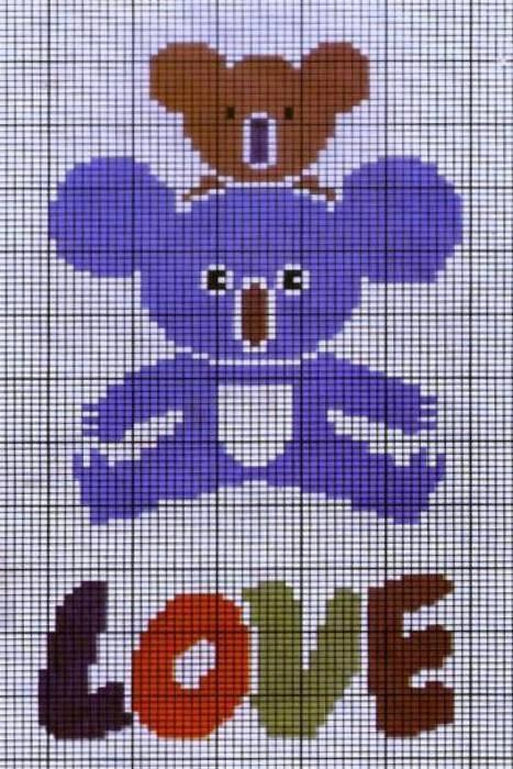 经典毛衣编织动物图案