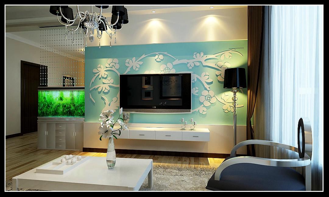 家居装修之如何个性客厅电视背景墙装修方式