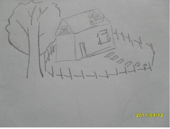 用铅笔画的可爱蓝鲸