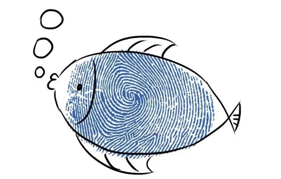 幼儿园课堂教学--手指印画