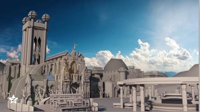 建筑maya素材