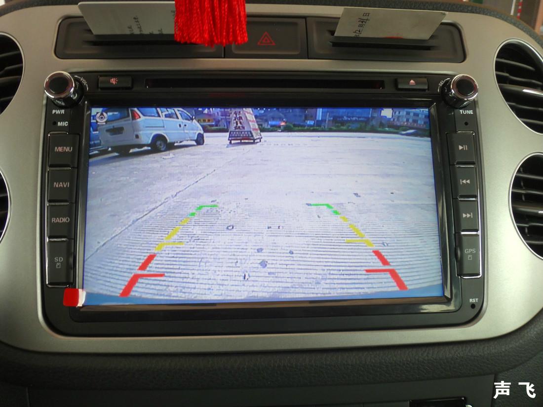 声飞专业汽车导航改装—大众途观升级金像王导航
