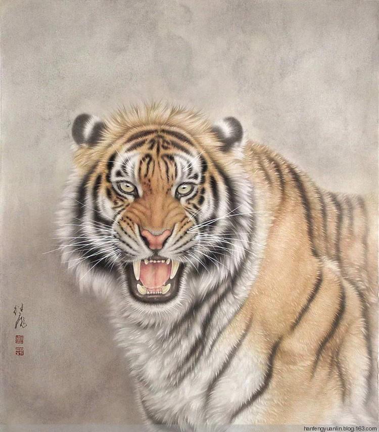 当代中国著名动物画家