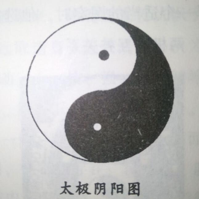 """太极又称太一,用""""—""""符号表示,或用阴阳鱼太极圆图表示."""
