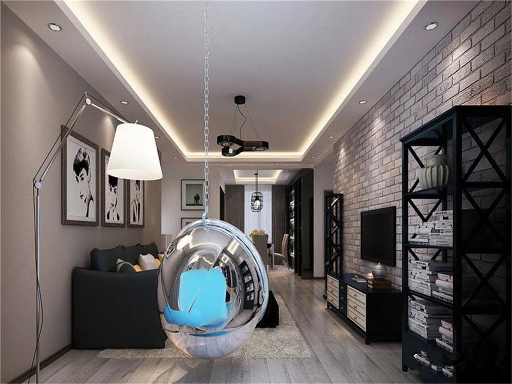 客厅效果图-loft装修风格效果图-主语城装修效果图