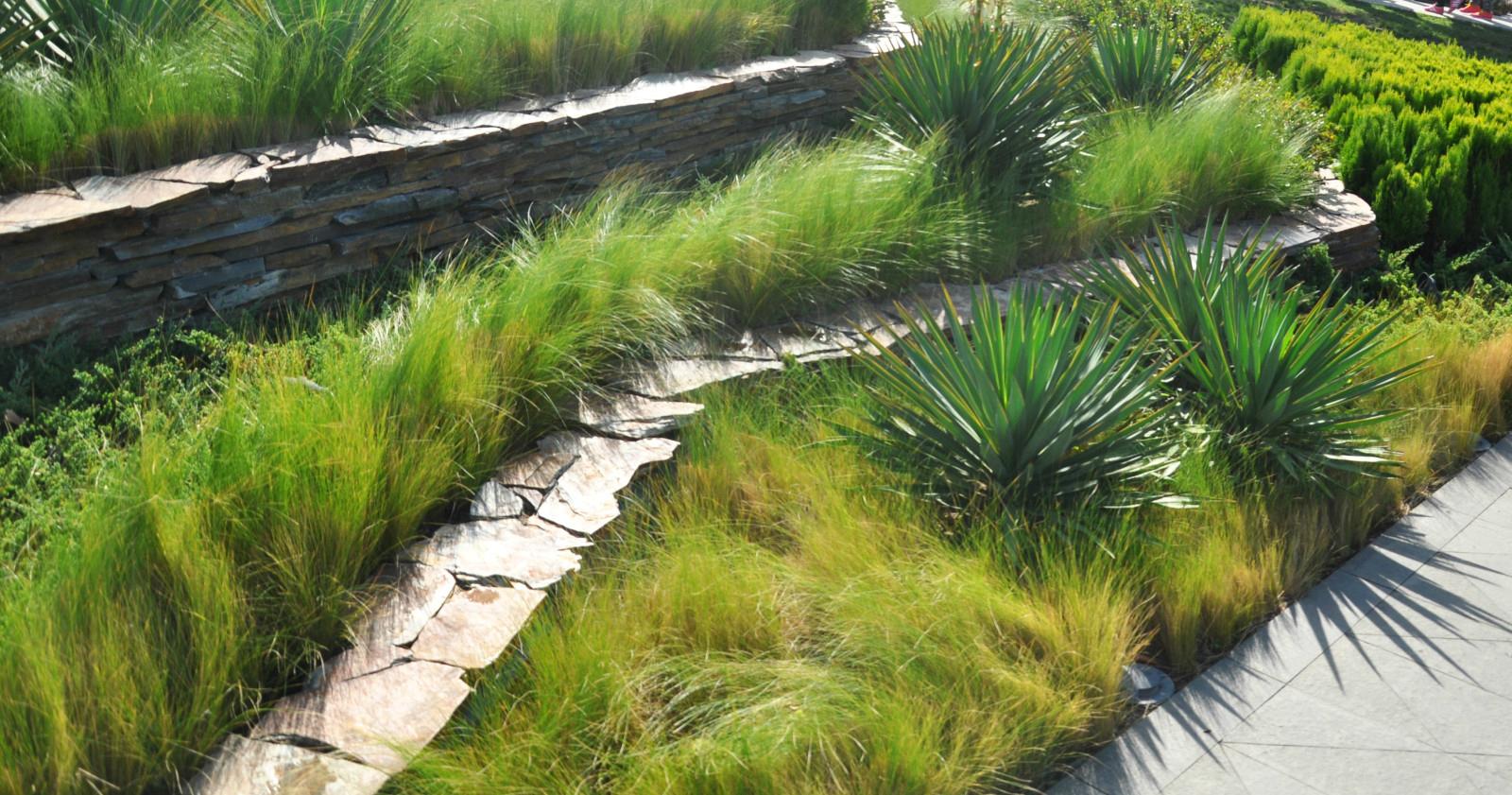 挡土墙100例_景观设计共享