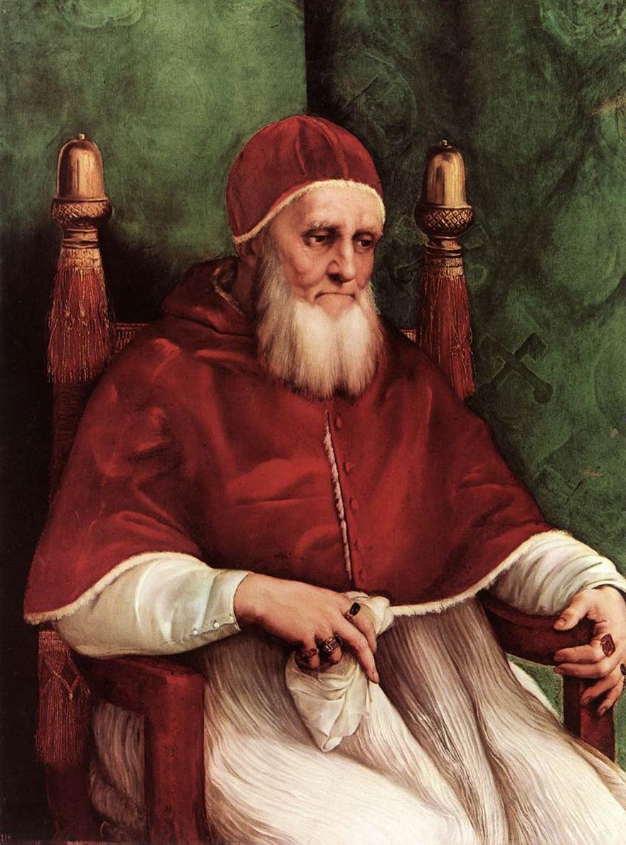 年,收藏于佛罗伦斯乌菲兹美术馆-世界级大画家拉斐尔艺术作品欣赏