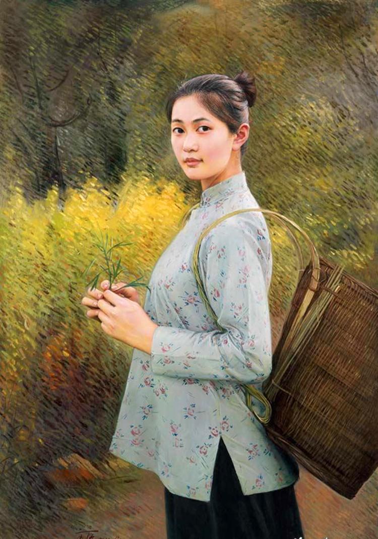 贺文庆油画作品欣赏