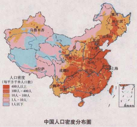 全国动物分配地图