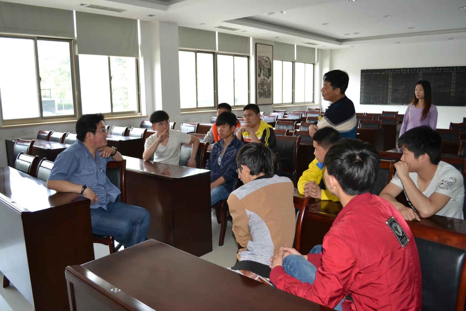 洛阳服务外包学院机械专业学生深受企业欢迎
